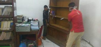 Sub Unit Perpustakaan Jurusan Keperawatan Poltekkes Kemenkes Aceh Mendekor Ulang Posisi Pelayanan