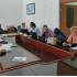 Dokumentasi rapat persiapan dan diskusi penyusunan borang dan data dukung yang    langsung dipimpin oleh Ibu Nurhayati, SKM, MPH selaku Sekretaris Jurusan.